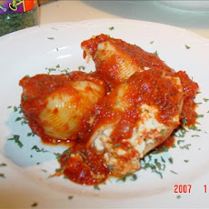 Light Three-Cheese Stuffed Pasta Shells (8 Ww Points)