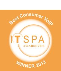 ITSPA Award Best Consumer VoIP 2013