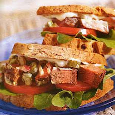 Steak Salad Sandwiches with Capers