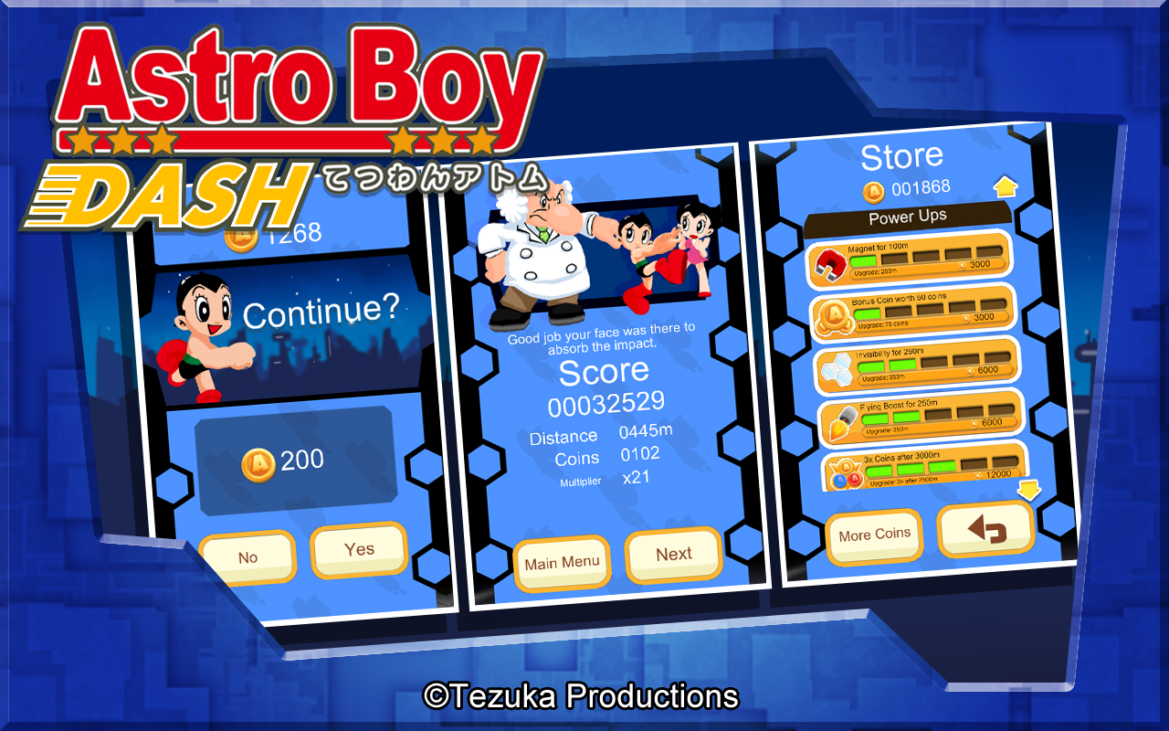 Astro Boy Dash Screenshot 3