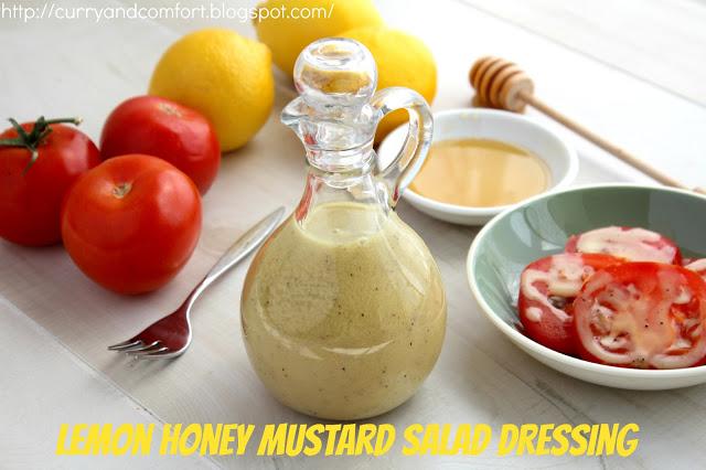 Lemon Honey Mustard Salad Dressing Recipe | Yummly