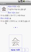 Screenshot of Học kanji tiếng nhật N4