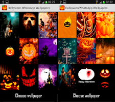 Screenshot of Halloween Chat Wallpapers