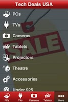 Screenshot of Tech Deals USA