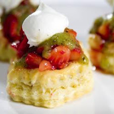 Strawberry and Kiwi Fruit Tartlets