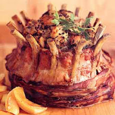 Crown Roast of Pork with Apple Stuffing