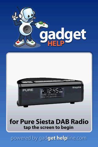 Pure Siesta - Gadget Help