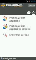 Screenshot of Padelarium Gava