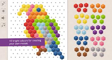 Screenshot of Mosaic for kids (free)