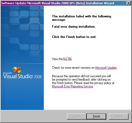 Visual_Studio_2008_Service_Pack_1_SP1_Beta_Fatal_Error_During_Installation