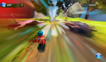 Screenshot of Speed Moto:Fast Ride 3D