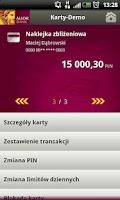 Screenshot of Alior Mobile