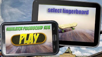 Screenshot of Simulator Fingerboard Ride