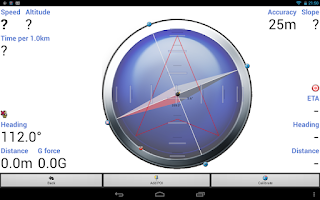 Screenshot of Compass: GPS, Search, Navigate