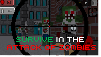 Screenshot of Pixel Sniper Zombie Apocalypse