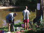 To jsme ještě nevěděli, že to co je před Norikem není řeka, ale odříznuté slepé rameno
