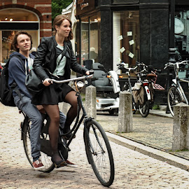 Mă dusei să trec la Olt by Constantinescu Adrian Radu - Transportation Bicycles