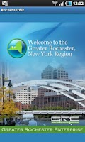 Screenshot of RochesterBiz