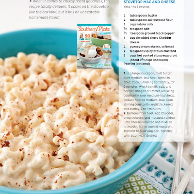 Stovetop Mac and Cheese from the Southern Plate Magazine