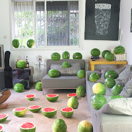 by Michael Hagai - Digital Art People ( melon, digital art, people, man )