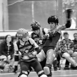 NCN by Sunny Dyck - Novices Only Sports ( sports, roller derby, roller skates, women in sports, quads )