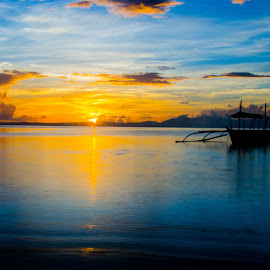 Good Day Coming by Vic Valparaiso - Landscapes Sunsets & Sunrises