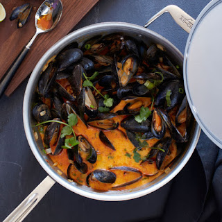 Coconut Curry Sauce For Mussels Recipes
