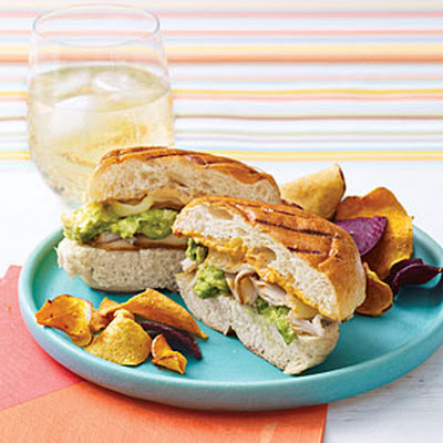 Grilled Turkey Sandwiches with Chipotle Mayonnaise