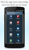 Screenshot of Markt en Braderie App