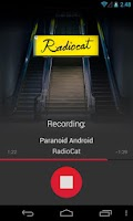 Screenshot of AirPlay Recorder iTunes radio