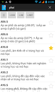 Screenshot of ICD 10 VN