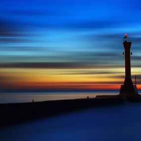 the lighthouse by Christian Setiawan - Landscapes Sunsets & Sunrises ( waterscape, house, light )