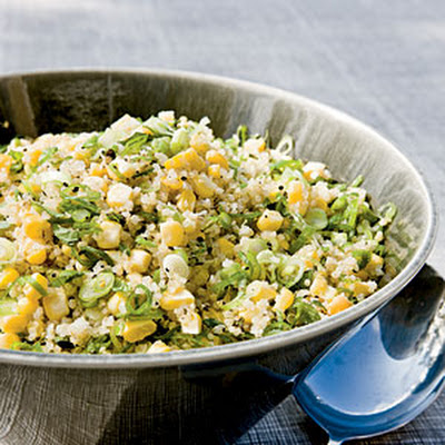 Quinoa, Corn, and Mint Salad