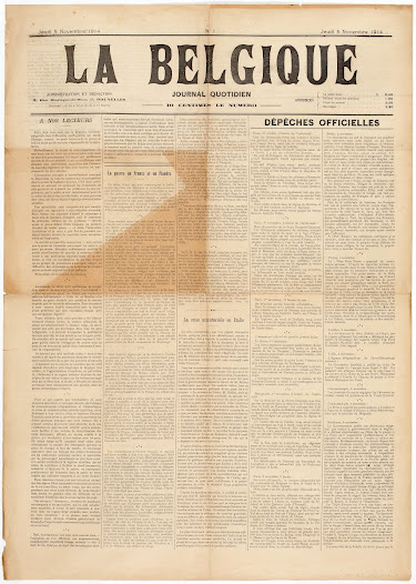 Daily papers under German censorship