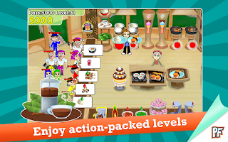 Screenshot of Cooking Dash