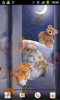 Screenshot of Teddy Bear Live Wallpaper