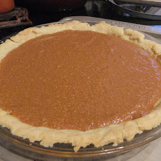 Cracked Caramel-Pumpkin Pie
