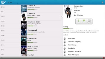 Screenshot of aMPdroid
