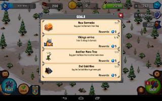 Screenshot of Vikings Battle: Strategy Game