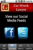 Screenshot of Car Wreck Lawyer