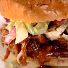 Bourbon BBQ Pork Sandwich