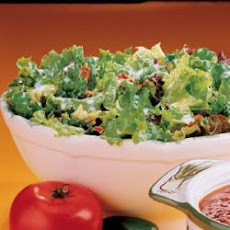 Sweet-Sour Lettuce Salad
