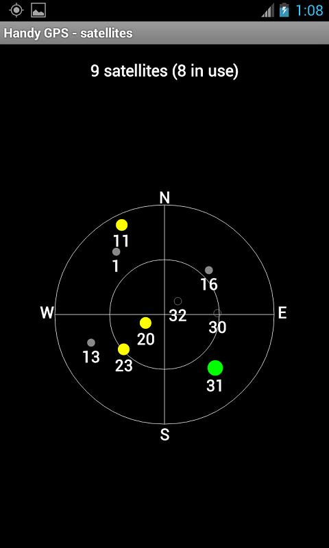 Handy GPS Screenshot 6