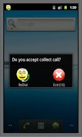 Screenshot of Collect Call