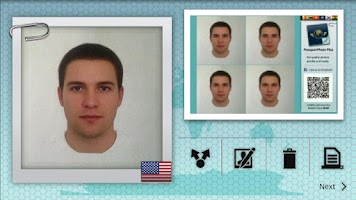 Screenshot of Passport Photo