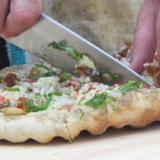 Spring Lamb Sausage Pizza Recipe
