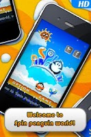 Screenshot of Spin Penguin