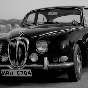 The vintage car by Ashish Garg - Transportation Automobiles