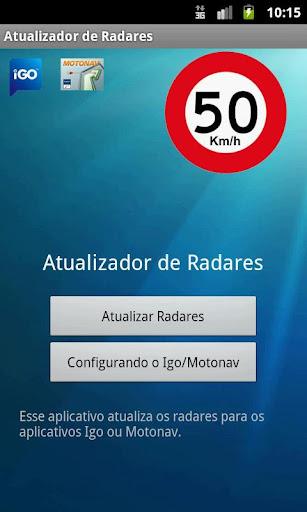 Atualizador de Radares Brasil