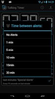 Screenshot of Talking Timer